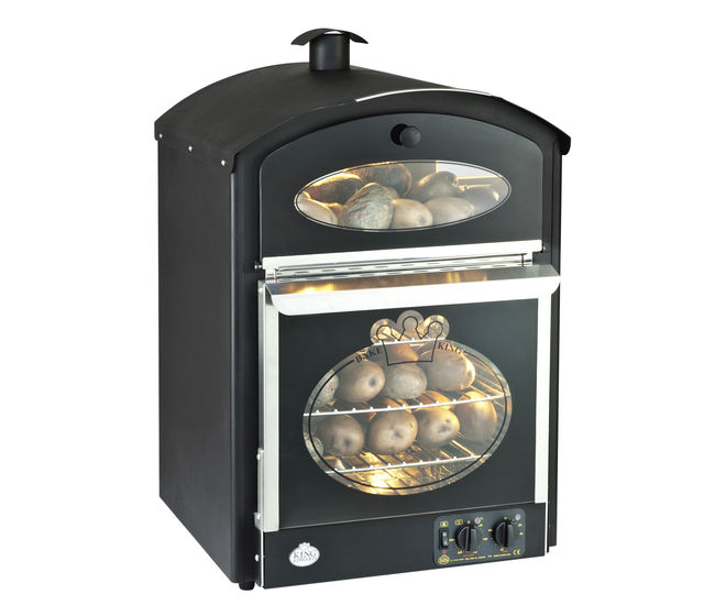 King Edward Bake-King Potato Oven B-K - Black