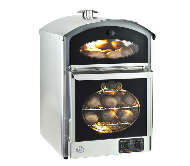 King Edward Bake-King Potato Oven B-K - Stainless Steal