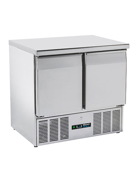 Blizzard Compact Refrigerated Gastronorm Two Door Counter BCC2-ECO 214 Litres
