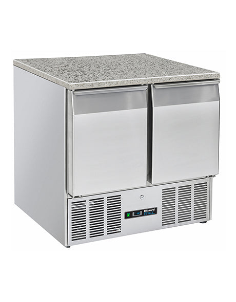 Blizzard Compact Two Door Gastronorm Counter with Granite Worktop : BCC2-GR-TOP-ECO