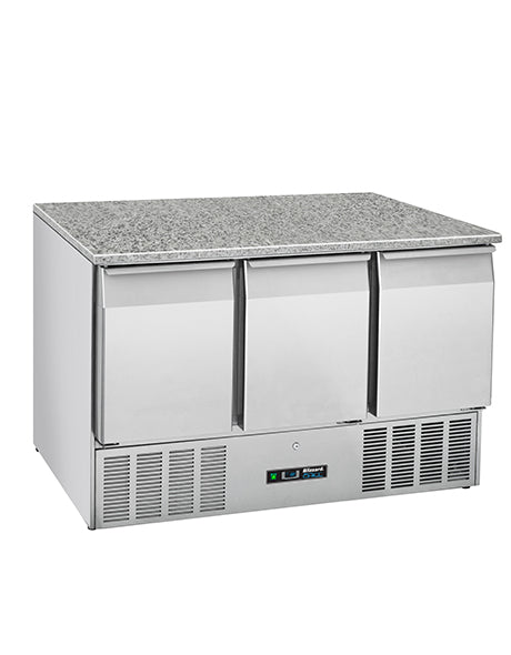 Blizzard Compact Gastronorm Counters with Granite Worktop Three Door  : BCC3-GR-TOP-ECO