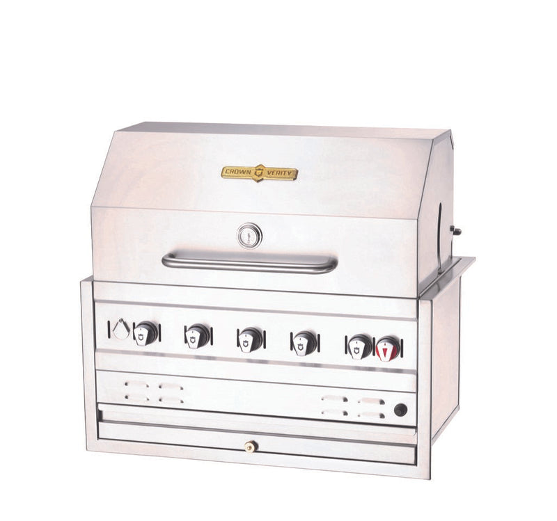 Crown Verity 5 Burner Built-In Barbecue Grill BI36