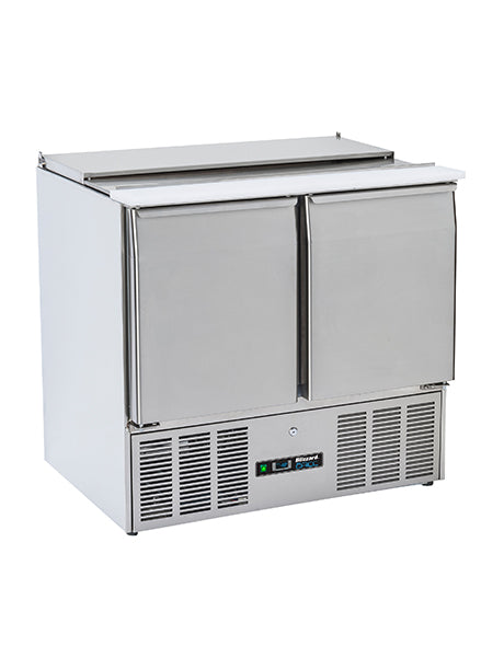 Blizzard Compact Gastronorm Two Door Saladette BSP2-ECO 240 Litres