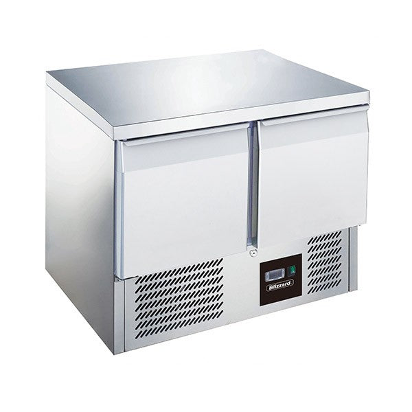 Blizzard 2 Door Compact Gastronorm Counter 240l BCC2