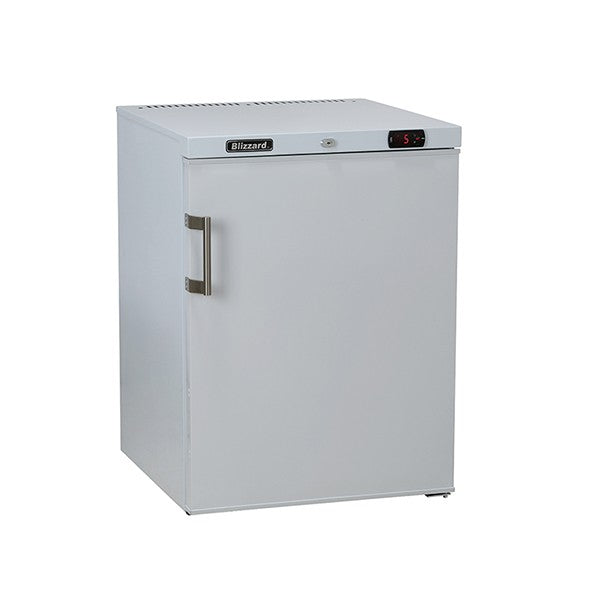 Blizzard Under Counter White Laminated Refrigerator 145l UCR140WH