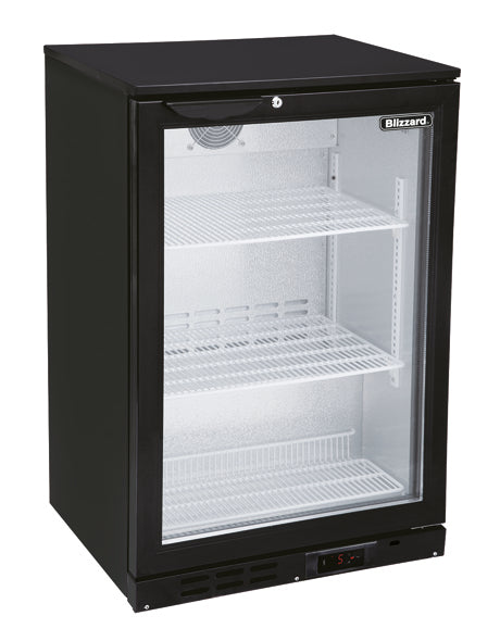 Blizzard 130 Litre One Door Bottle Cooler BAR1