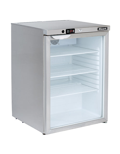 Blizzard 145 Litre One Door Bottle Display Fridge UCR140CR