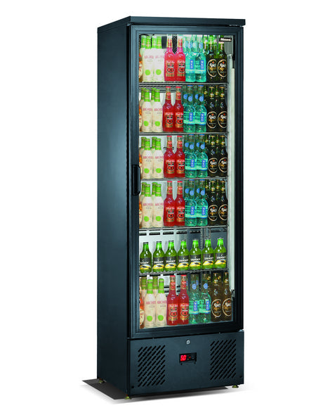 Blizzard 260 Litre One Door Upright Bottle Cooler BAR10