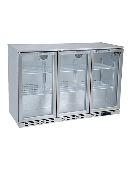 Blizzard 310 Litre Two Door Bottle Cooler BAR3SS