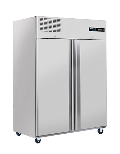 Blizzard 1200 Litre Ventilated Gastronorm Two Door Freezer: BL2SS