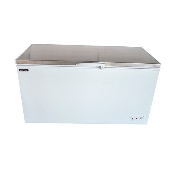Blizzard Stainless Steel Lid Chest Freezer CF550SS