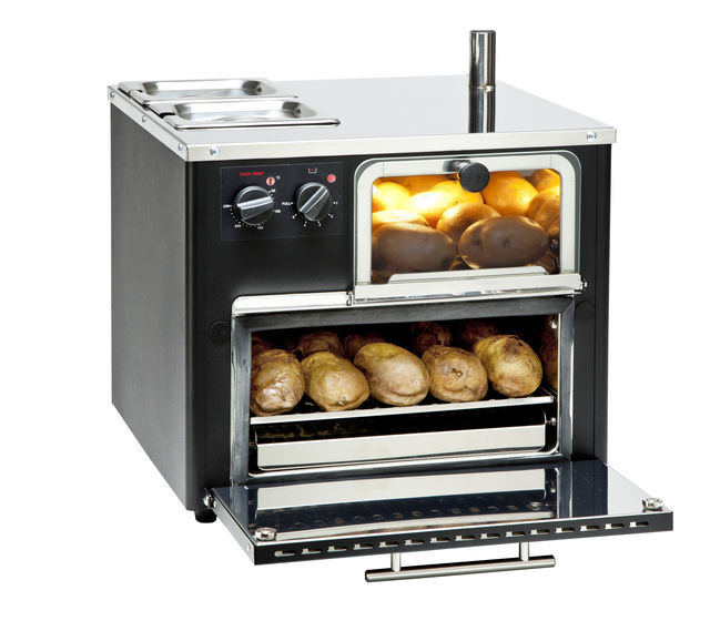 King Edward Classic Compact Lite Potato Oven COMPLITE - Black