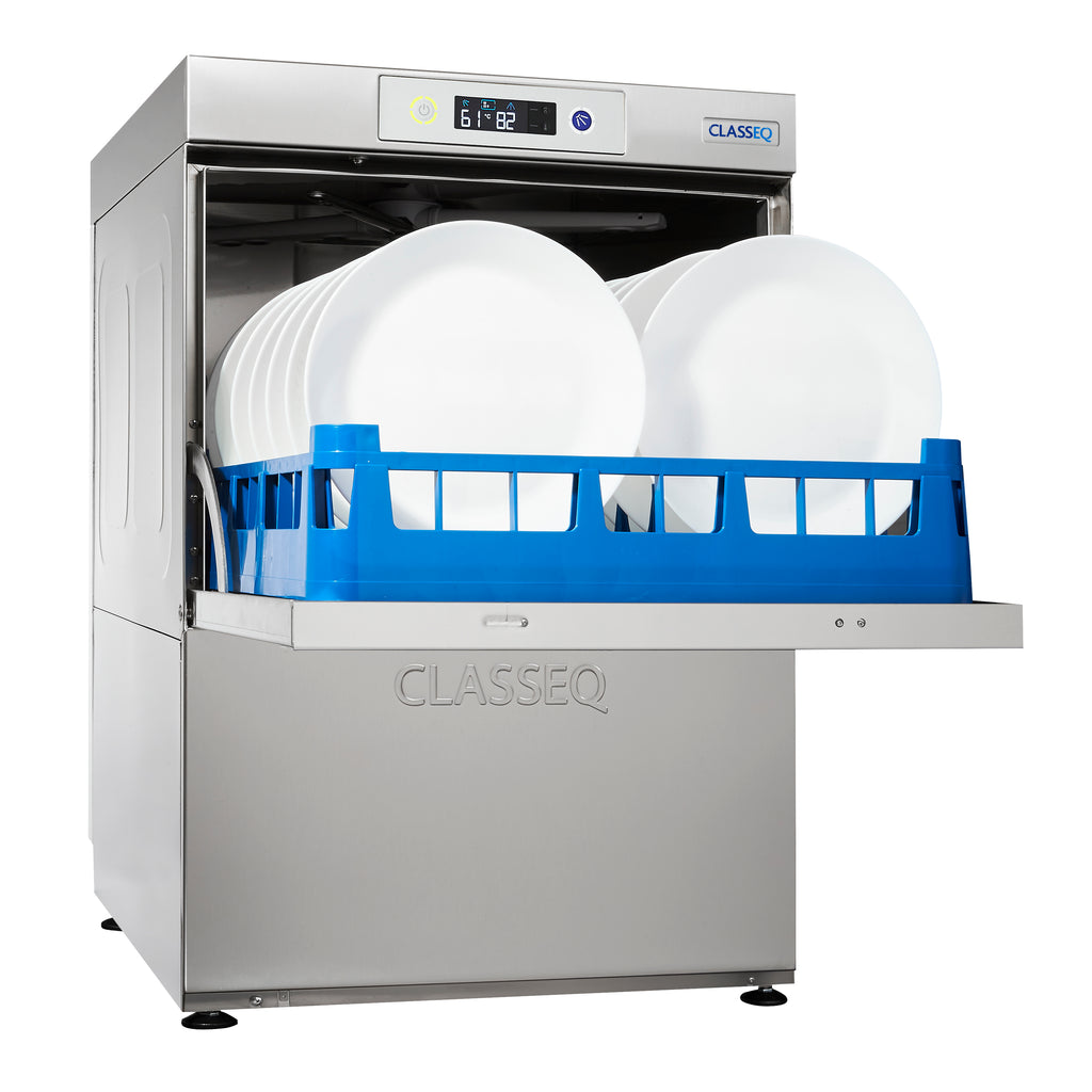 Classeq Dishwasher: D500 with Gravity Drain (1 Phase 13 amp)