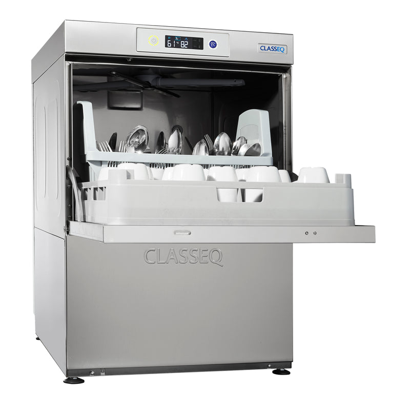 Classeq Dishwasher with Water Softener: D500DUOWS (3 Phase or 30 amp)