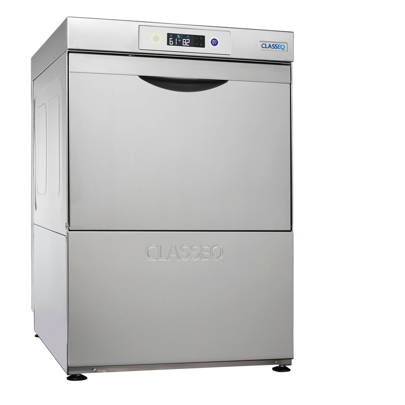 Classeq Dishwasher: D500 with Gravity Drain (3 Phase or 30 amp)
