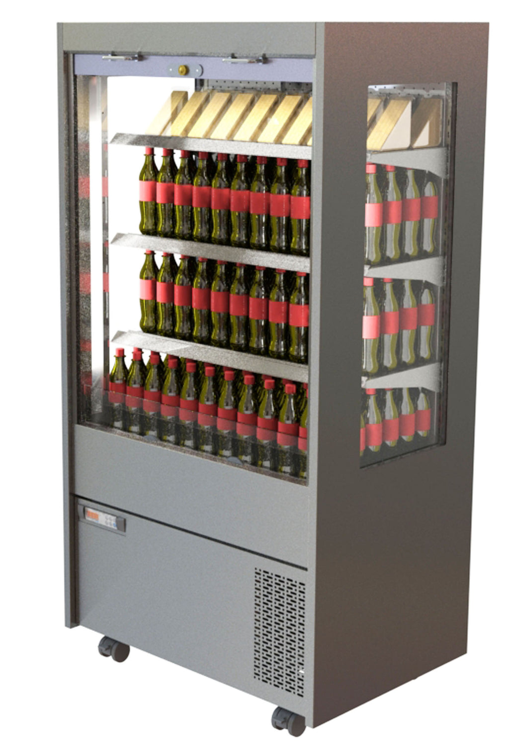 CED Chilled Multideck MM1500SHT(With Panoramic glazed side panels)