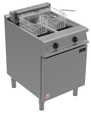 Falcon Twin Pan, Twin Basket Fryer with Filtration : E3865F