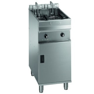 Valentine Single Pan Twin Basket Fryer 400mm : EV0400