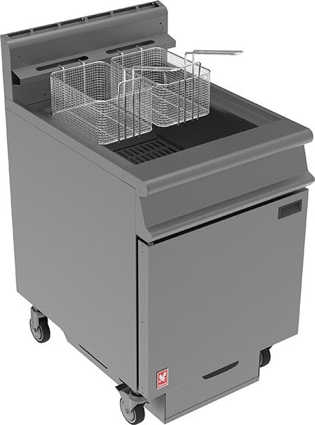 Falcon Dominator Plus Twin Basket Fryer with Filtration G3860F (Gas)