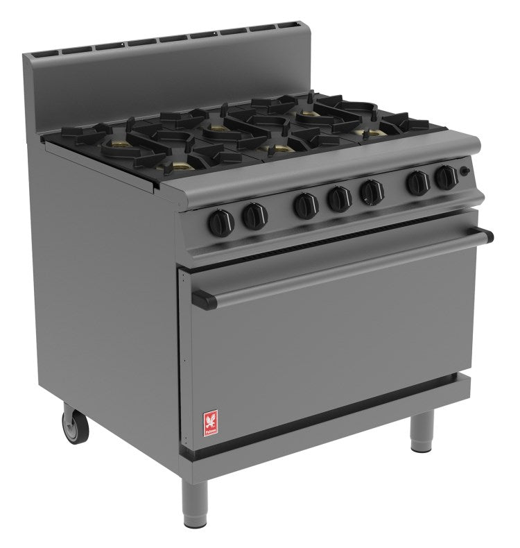 Falcon Dominator Plus Six Burner Oven: G3101HD