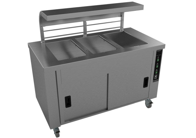 Falcon HS3 Heated Servery Counter with Gantry