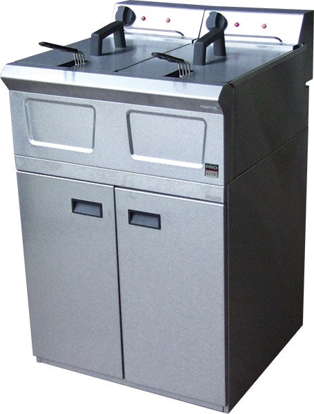 Falcon Pro-lite Free Standing Double Electric Fryer - LD48
