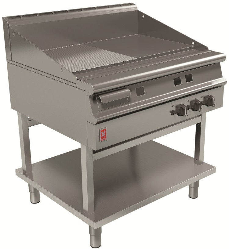 Falcon Ribbed Griddle on Fixed Stand G3941R