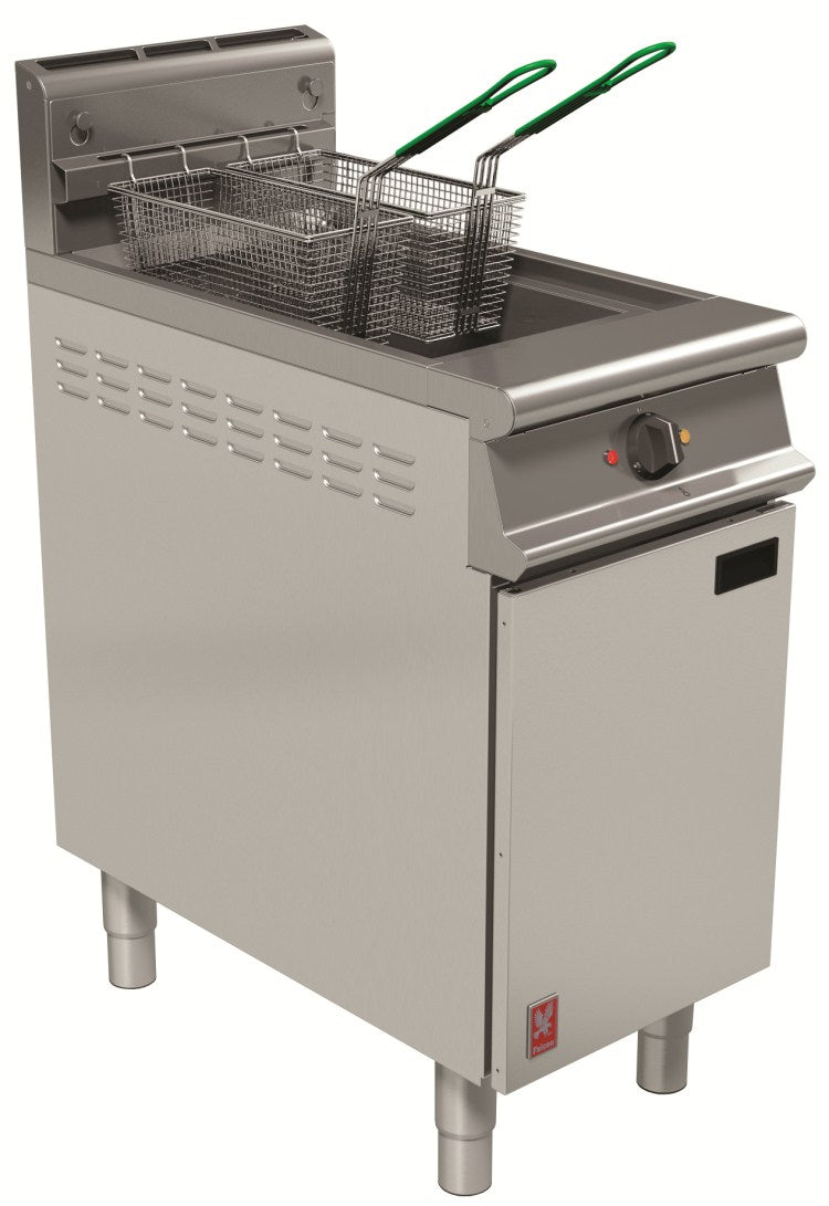 Falcon Single Pan, Twin Basket Fryer with Filtration G3840F