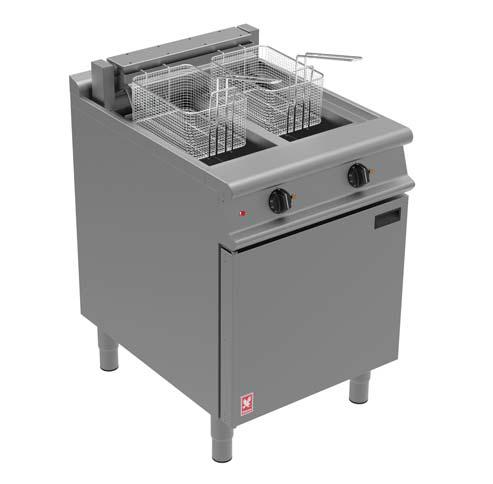 Falcon Twin Pan, Twin Basket Fryer E3865