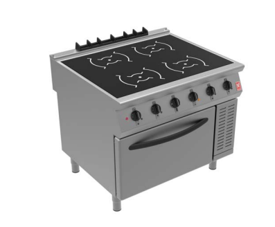 Falcon i91105 Four Zone Induction Electric Oven Range
