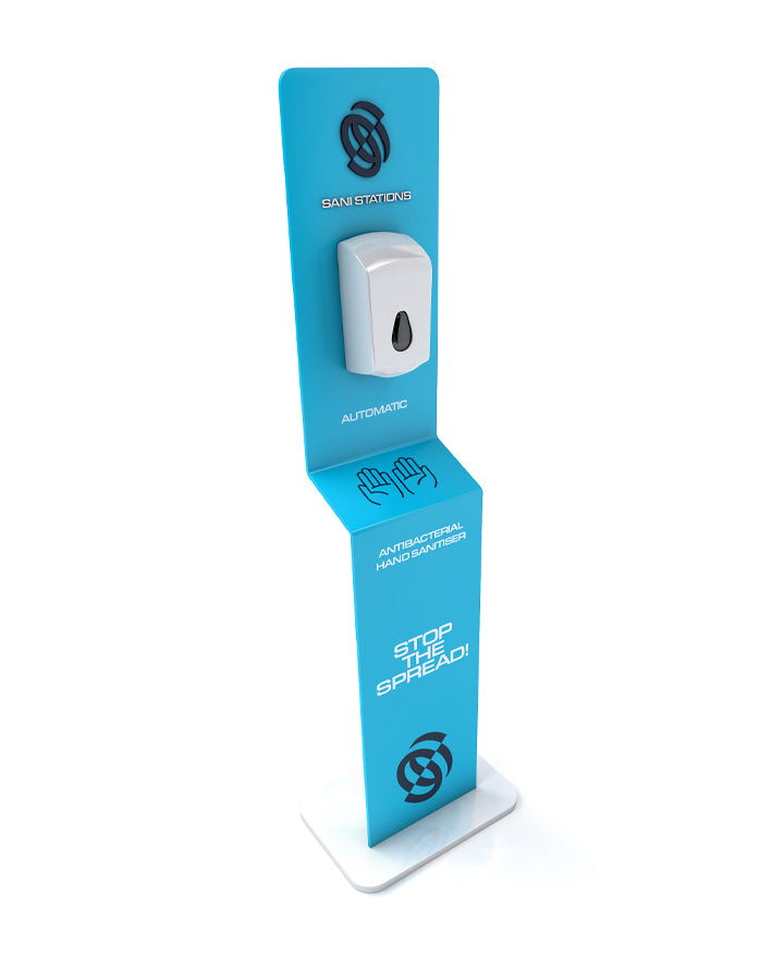 Floorstanding Automatic Hand Sanitiser x1L Dispenser (5L Refill Included) FSSS001