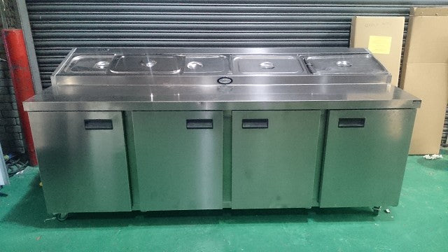 Foster Refrigerated Prep Counter FPS4HR: 44630