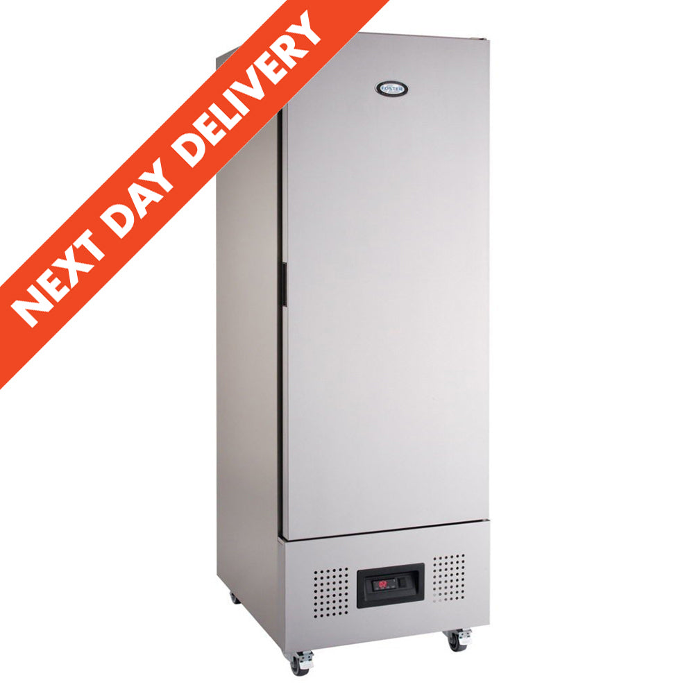 Next Day Delivery Foster Slimline One Door Refrigerator FSL 400 H : FSL400H 11-109
