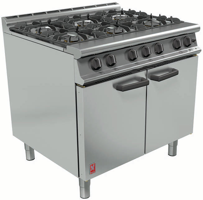 Falcon Dominator Plus Six Burner Oven G3101 (Gas)