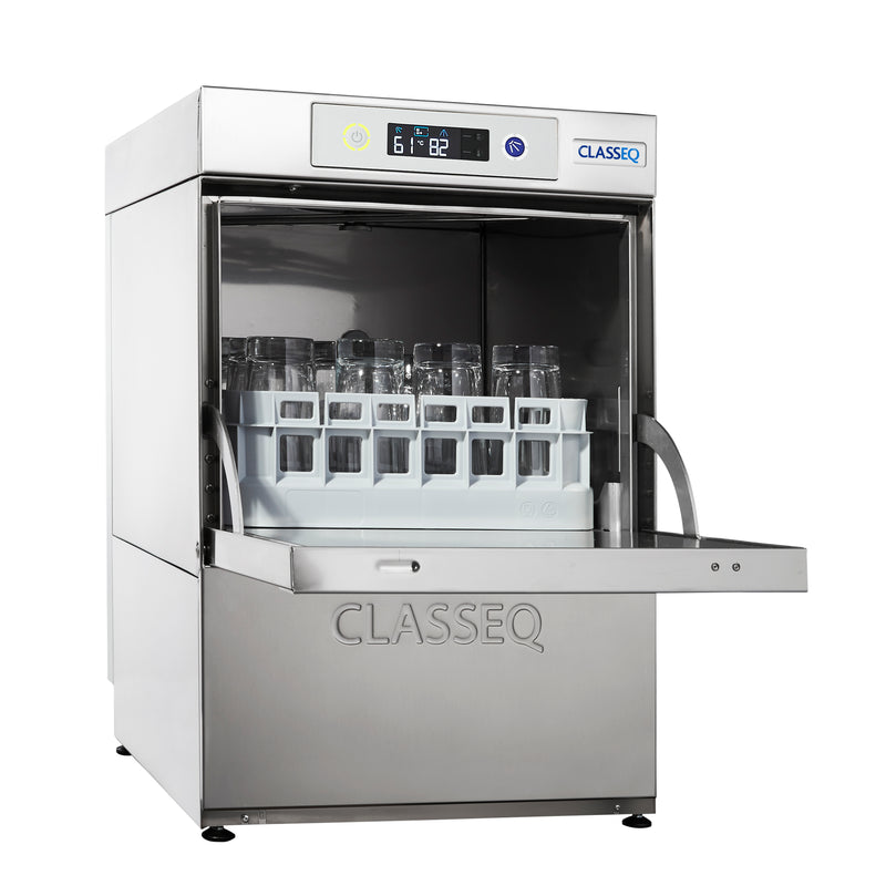 Classeq Glasswasher with Gravity Drain: G350 (1 Phase 13 amp)