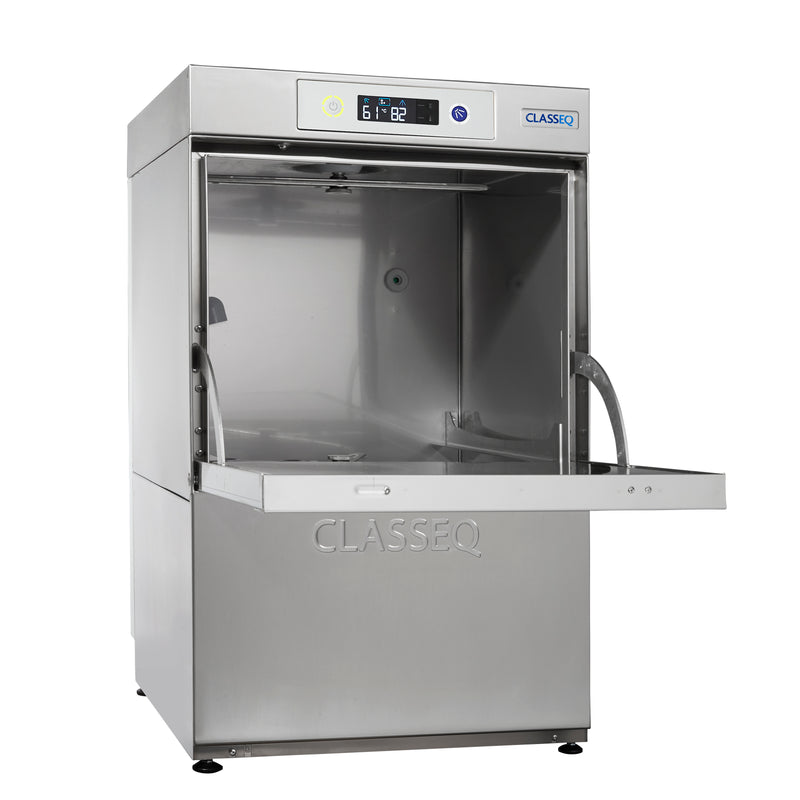 Classeq Glasswasher with Gravity Drain: G400 (1 Phase 13 amp)