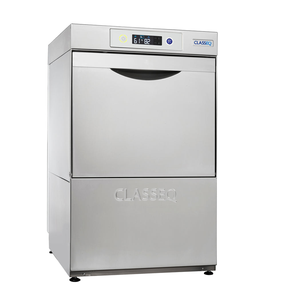 Classeq Glasswasher with Drain Pump: G400P