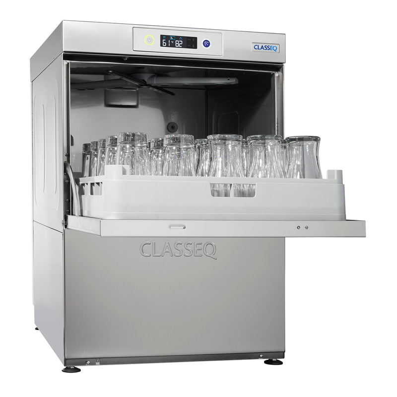 Classeq Glasswasher with Drain Pump: G500P (1 Phase 13 amp)