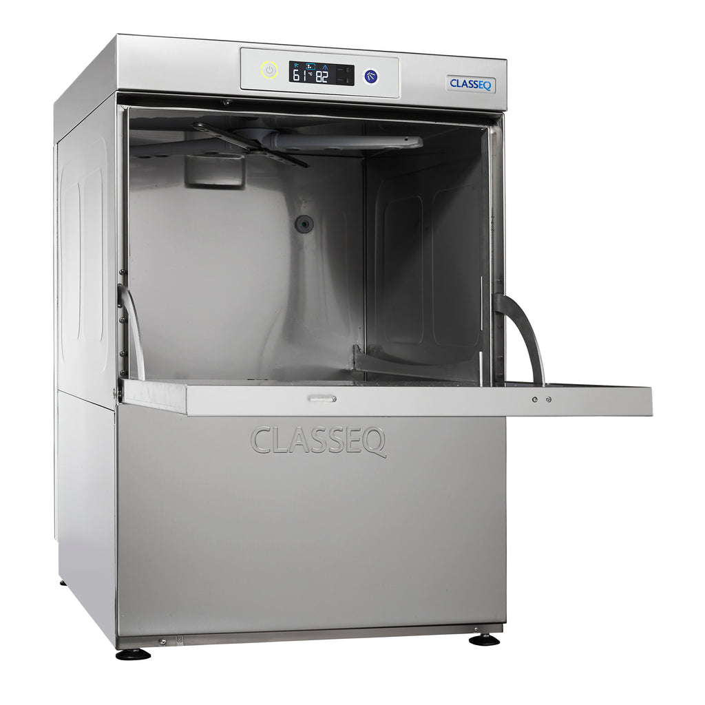 Classeq Glasswasher with Drain Pump: G500P