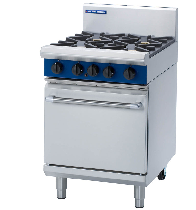 Blue Seal Gas  Four Burner Range - G504D