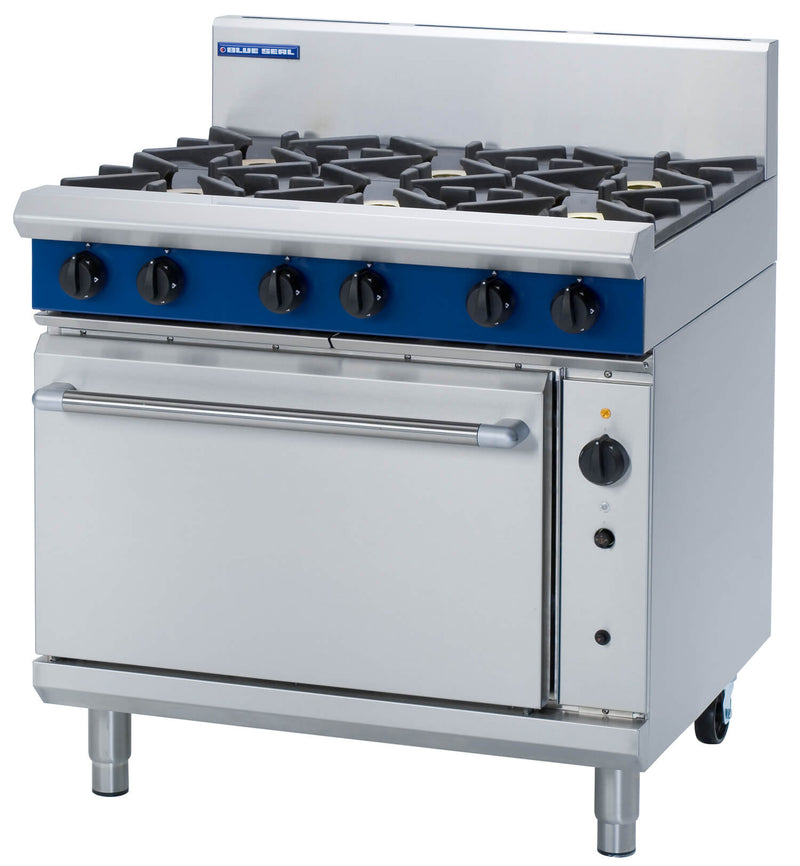 Blue Seal Six Burner Range - G56D