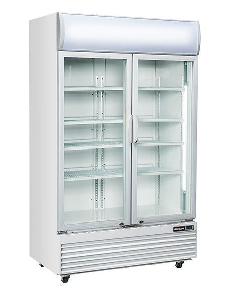 Blizzard 1000 Litre Two Door Drink Merchandiser GD1000