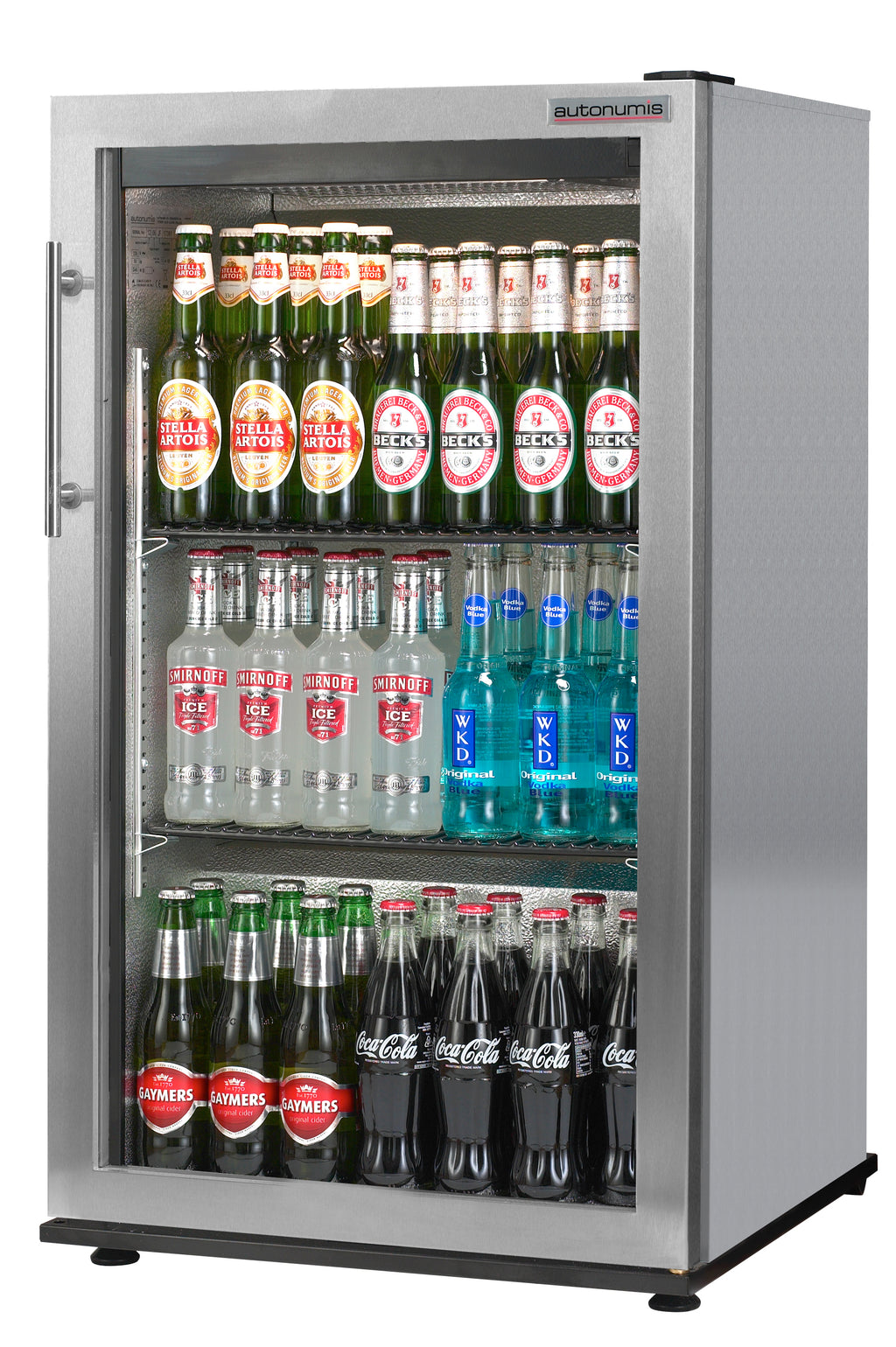 Autonumis One Door Bottle Cooler Fridge Stainless : RFC00002