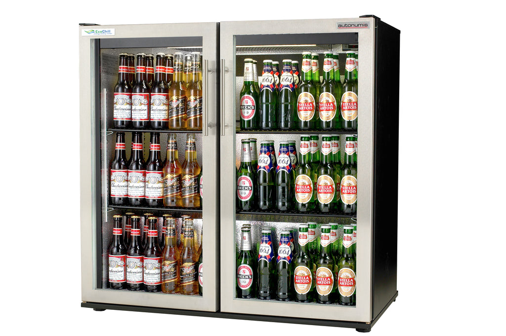 Autonumis Ecochill Two Door Bottle Cooler Stainless Steel : RJC00003