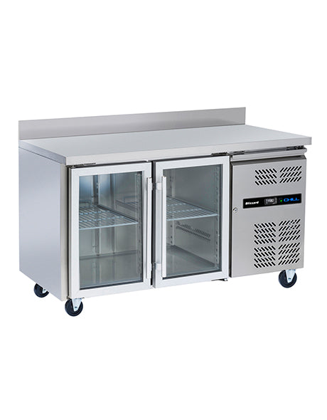 Blizzard Two Door Glass Refrigerated Gastonorm Counter : HBC2CR