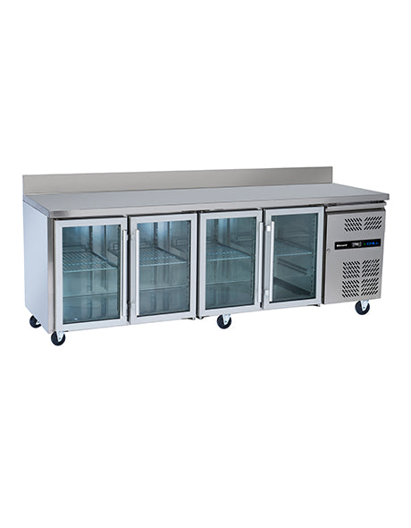 Blizzard Refrigerated Four Glass Door Gastronorm Counter : HBC4CR
