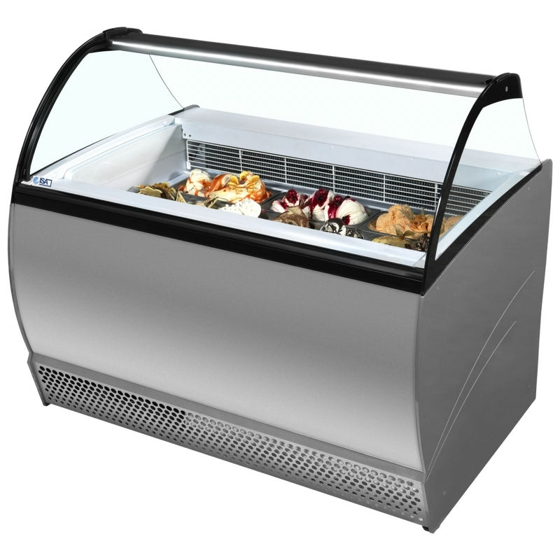 ISABELLA Ice Cream Freezer ISA 10LX Grey