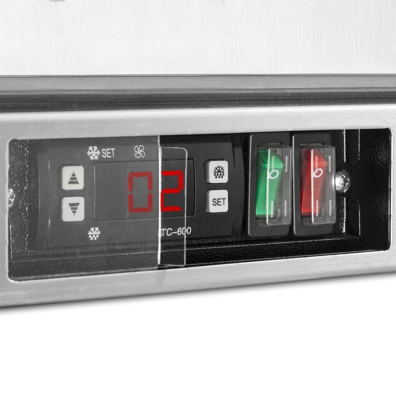 Interlevin 142 Litre One Door Bottle Cooler PD10H SS Switches