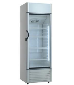 U-Select Glass Fronted Fridge KK421