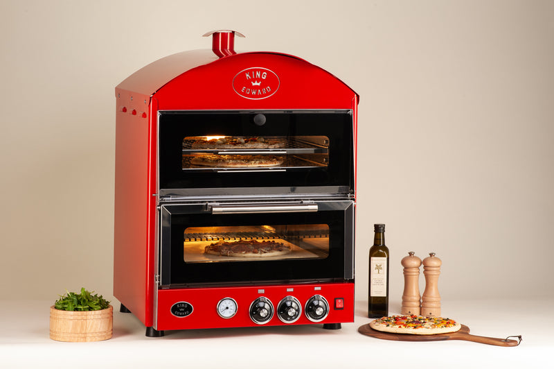 King Edward Pizza King Oven with Warmer PK1W
